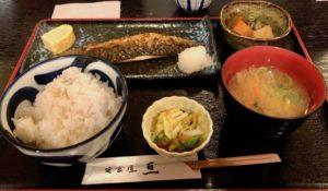おすすめの「鯖定食」