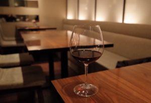 ワイン一杯でもOK