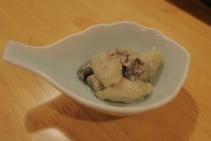 牡蠣ゴルゴンゾーラオイル漬け