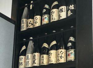 日本酒に加えて焼酎も銘酒揃い