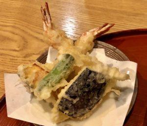「天ぷら」はサクサクの食感