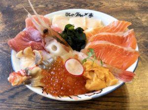 おすすめの「海鮮丼」