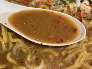こだわりの「味噌」スープ(写真は「味噌RED」)