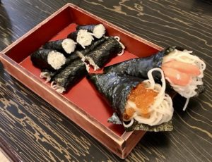 寿司セットの「そば寿司」