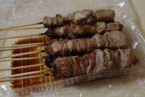 焼き鳥セットの「豚タレ」