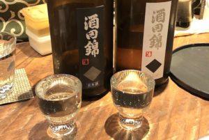 「酒田錦」純米酒と本醸造を飲み比べ