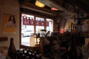 昭和の雰囲気漂う店内