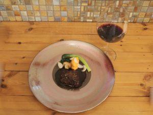ブランド牛肉と赤ワインのマリアージュ