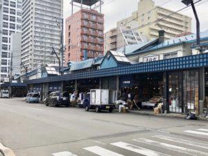 札幌のグルメスポット「二条市場」