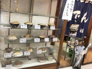 ノスタルジックな料理サンプルはまさに「昭和の食堂」