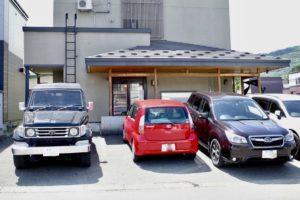 駐車場は常に満車の大人気