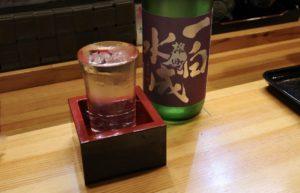 この日は秋田の銘酒「一白水成」もありました