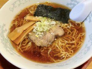 東京風の懐かしい「正油ラーメン」