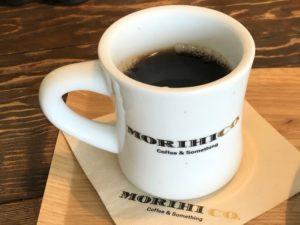 「森彦」のコーヒーで1日のスタート