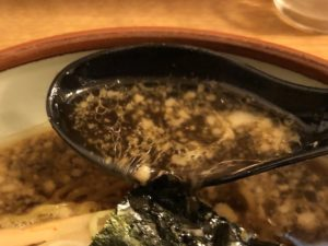 スープにもひと工夫(写真は「しょうゆ」)