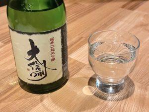 日本酒は「小瓶」もあります