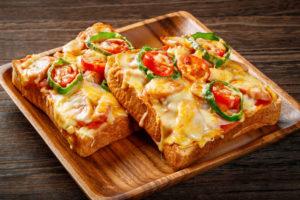 懐かしい「ピザトースト」