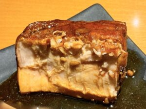 「角煮」は箸でホロリと切れます