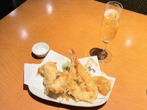 「天ぷら」と「スプマンテ」のマリアージュ