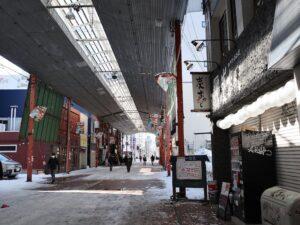 昭和の雰囲気を残す狸小路の7丁目