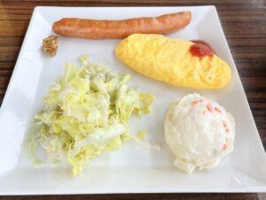 充実の「円山の朝食セット」