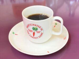 コーヒーも本格的な味