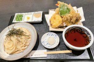 天ぷらもおすすめ「天ざる」
