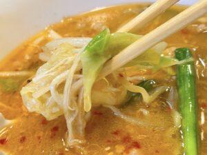 具と麺・スープの一体感が見事