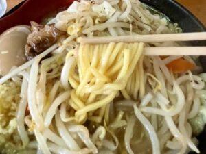 ちゃんぽん風の「麺」