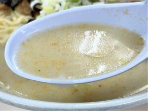 あっさりながらコク深い「豚骨スープ」