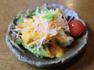 セットの新鮮な「サラダ」